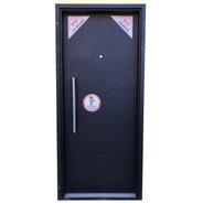 Puerta Chapa Exterior Seguridad Bunker 2 Cerraduras 110x200