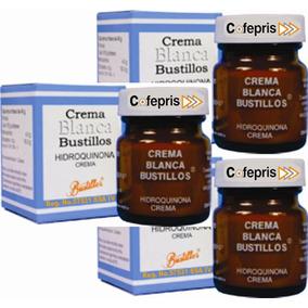 3 Crema Aclarante Y Quitamanchas. Formula Con Registro S S A