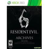 Resident Evil 6 Archives Xbox 360