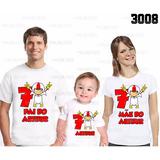 Camiseta Kick Buttowski Personalizada Kit Com 3 Ref 3008