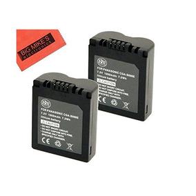 Bm Pack Premium De 2 Cga-s006 Baterías Para Panasonic Lumix
