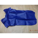 Capa Banco Honda Cbr 450 Sr 1990 Até 1992 Azul - Sem Escrita