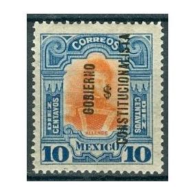 Sc 428 Año 1914 Ignacio Allende Con Gobierno Constitucional