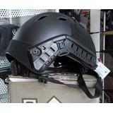 Casco Airsoft Militar Tactico Black Bicicleta Deporte Cascos