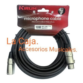 Cable Canon Profesional. 3 Metros. Ficha Reforzada.