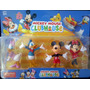 Set X 4 Muñecos Mickey, Minnie, Pluto, Goofy, Donald, Daisy!