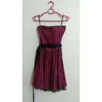 Vestido Femenino Rosado