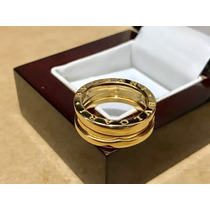 Impecable Anillo Bulgari B Zero1 Oro 18k Talla 7.5 Impecable