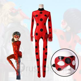 Fantasia Ladybug Barato Lady Bug Infantil Roupa Com Máscara