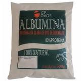 Albumina Cp Ovos 500g 83% De Proteina