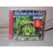 Cd Sambas De Enredo Das Escolas Do Rio De Janeiro 2016