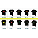 Camiseta Led Luminosa Ativada Por Som - Painel Eletrônico -