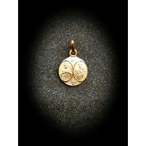 Medalla Escapulario Corazón De Jesús Y Virgen Del Carmen