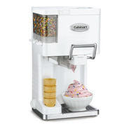 Maquina De Helado Suave Cuisinart Yogurt Toppings