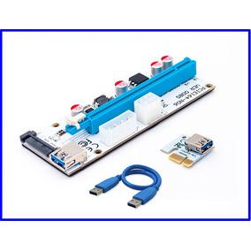 Riser Pci Express Usb 3.0 Pcie X1 X16 V 008 Btc Eth Rig