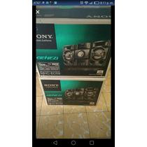 Minicomponente Sony Genezi 1300w Mhc-ec59 Nuevos