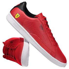 Tenis Puma Modelo De Ziper Ferrari - Calçados 5a7f80084c511