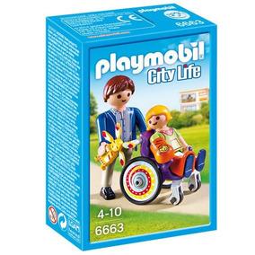 Niño En Silla De Ruedas Playmobil 6663