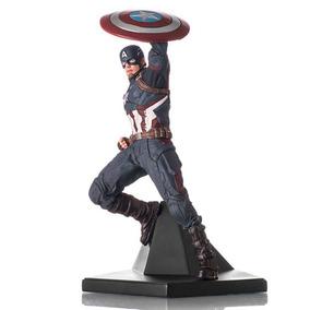 Capitao America 1/10 Captain America Civil War Iron Studios