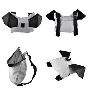 Mochila Coleira Guia Segurança Infantil Criança Morcego