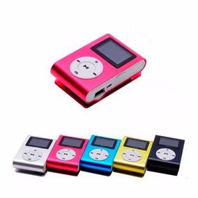 Mini Mp3 Fm Player Shuflle Clip Cartao Memoria Suporta 8gb
