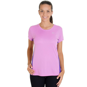 Camiseta Nike Miler Ss Crew Top Feminina 87e36bdeeadf0