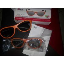 Oculos 3d Lg Dual Play Ag -f310p