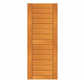 Porta 613 Madeira Maciça Externa 2,10m X 80cm Angelim