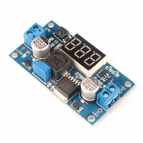 Regulador De Tensão Ajustável Step-down Lm2596 Com Display