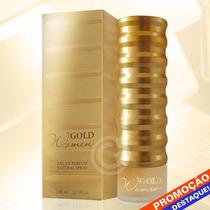 Perfume Gold Women New Brand Eau De Parfum Feminino 100ml