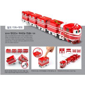 Brinquedo Robot Trains Alf Com 4 Vagões - Robo Trem Alf