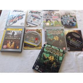 Lote 18 Jogos Ps1 Ps2 Ps3 Xbox 360 Battlefiels Gta Bioshok