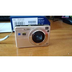 Cámara Digital Sony Dsc-w110, 7.2mp Disparador De Sonrisas