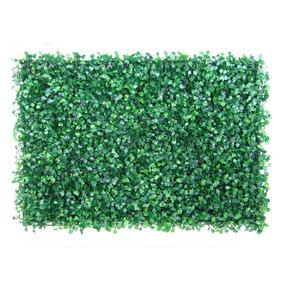 Placa Grama Artificial Grande 40x60 Buchinhos Muro Inglês