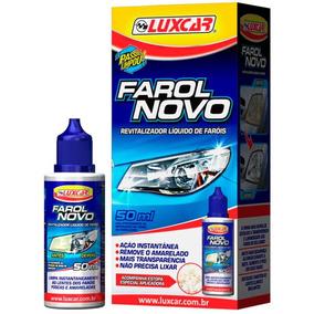 Revitalizador Líquido Farol Novo 50ml Luxcar