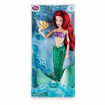 Boneca Ariel Pequena Sereia Disney Princesas Classic Barbie