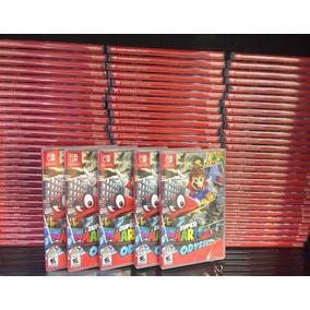 Super Mario Odyssey Mídia Física Frete Grátis