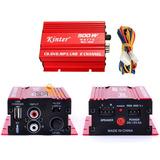 Mini Amplificador Kinter Carro 500w Potência 12v 5a Ma-150