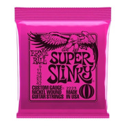 Ernie Ball Eb2223 009 Encordado Guitarra Electrica