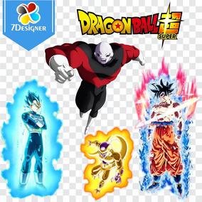 Kit Dragon Ball Super 124 Png + 23 Jpg (grandes Formatos)