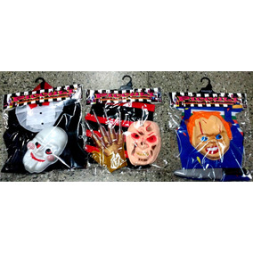 Disfraz Set Chuky Freddy Krueger Juegos Miedo Halloween