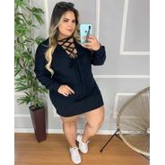 Blusão Lais Plus Size 48-54 Algoodão