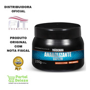 Máscara Anabolizante Capilar Fit Cosmetics 250 Gr