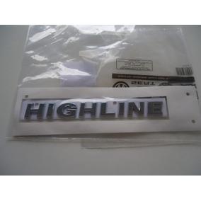 Emblema Logotipo Highline Fox Original Vw