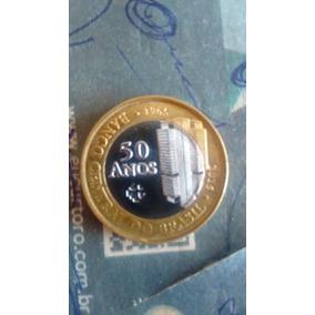 Moeda De 1 Real Comemorativa 50 Anos Bc