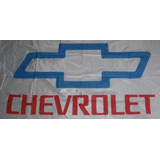 Bandera Chevrolet Blanca 150 Cm X 75 Cm