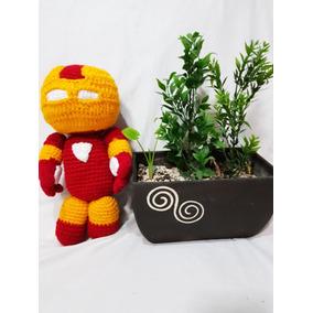 Iron Man Tejido A Crochet