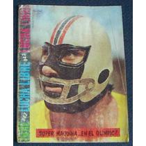 Lucha Libre, Super Máquina En El Olimpic, Revista 1982