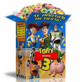 Kit Imprimible 2x1 Toy Story Con Textos 100% Editable Invita