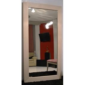 espejo ovalado con pedestal madera cuerpo completo en